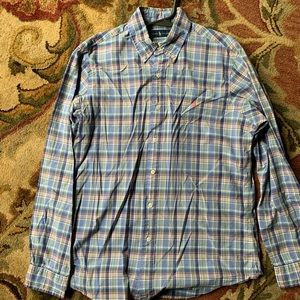 Ralph Lauren Checked Button Down Shirt